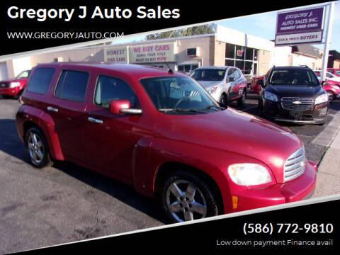 2010 Chevrolet HHR for sale at Gregory J Auto Sales in Roseville MI