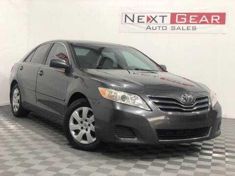 2010 Toyota Camry for sale at Next Gear Auto Sales in Westfield IN
