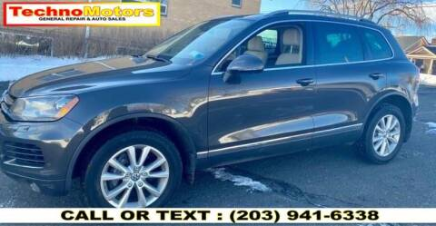 2013 Volkswagen Touareg for sale at Techno Motors in Danbury CT