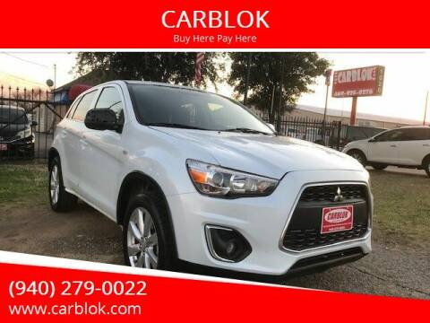 2014 Mitsubishi Outlander Sport for sale at CARBLOK in Lewisville TX