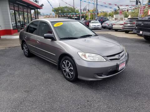 2005 Honda Civic for sale at Absolute Motors in Hammond IN