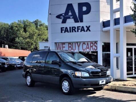 2000 Toyota Sienna for sale at AP Fairfax in Fairfax VA