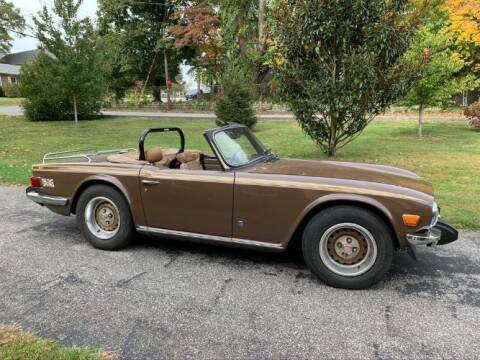 1975 Triumph TR6 for sale at Classic Car Deals in Cadillac MI
