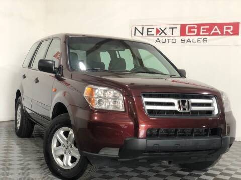 2007 Honda Pilot for sale at Next Gear Auto Sales in Westfield IN