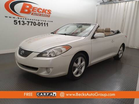 2006 Toyota Camry Solara for sale at Becks Auto Group in Mason OH