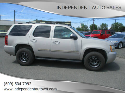 2007 Chevrolet Tahoe for sale at Independent Auto Sales in Spokane Valley WA