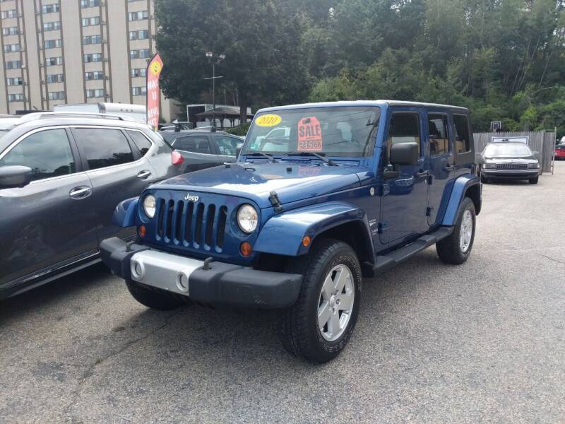 2010 Jeep Wrangler Unlimited for sale at Porcelli Auto Sales in West Warwick RI