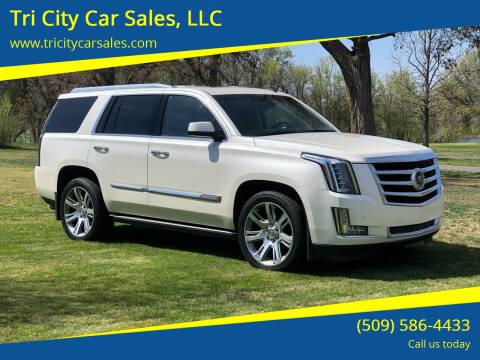 2015 Cadillac Escalade for sale at Tri City Car Sales, LLC in Kennewick WA
