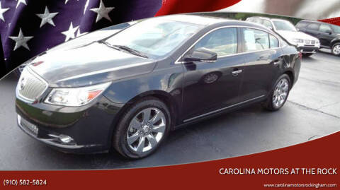 2012 Buick LaCrosse for sale at Carolina Motors at the Rock in Rockingham NC