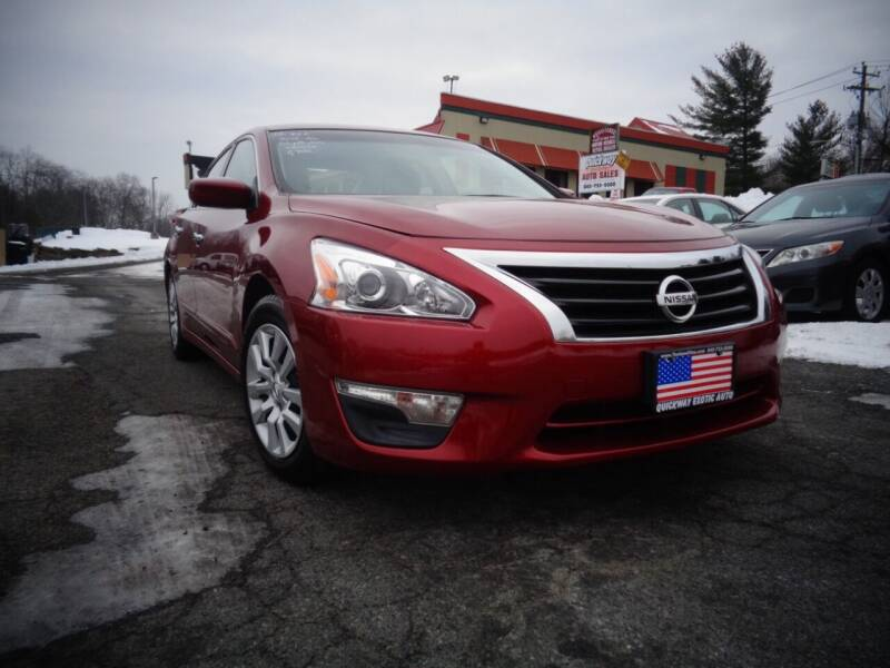 2013 Nissan Altima for sale at Quickway Exotic Auto in Bloomingburg NY