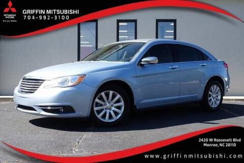 2014 Chrysler 200 for sale at Griffin Mitsubishi in Monroe NC