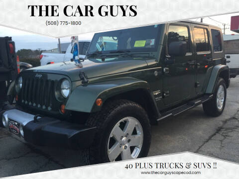 2008 Jeep Wrangler Unlimited for sale at The Car Guys in Hyannis MA