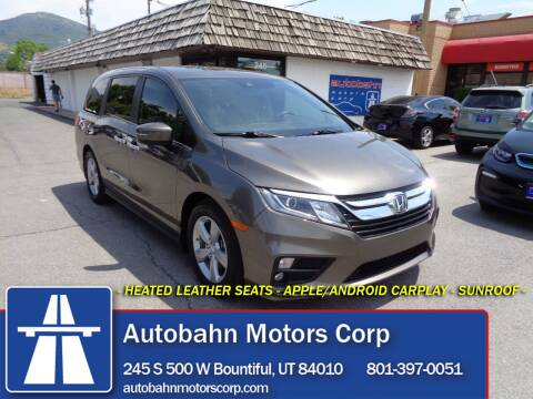 2020 Honda Odyssey for sale at Autobahn Motors Corp in Bountiful UT