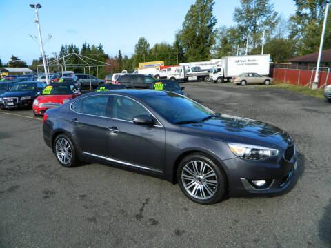 2014 Kia Cadenza for sale at J & R Motorsports in Lynnwood WA