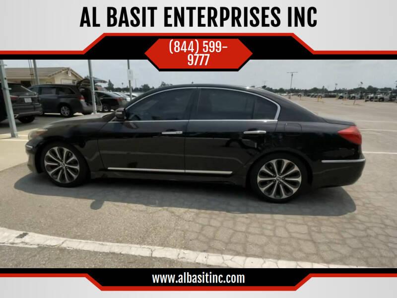 2012 Hyundai Genesis for sale at AL BASIT ENTERPRISES INC in Riverside CA