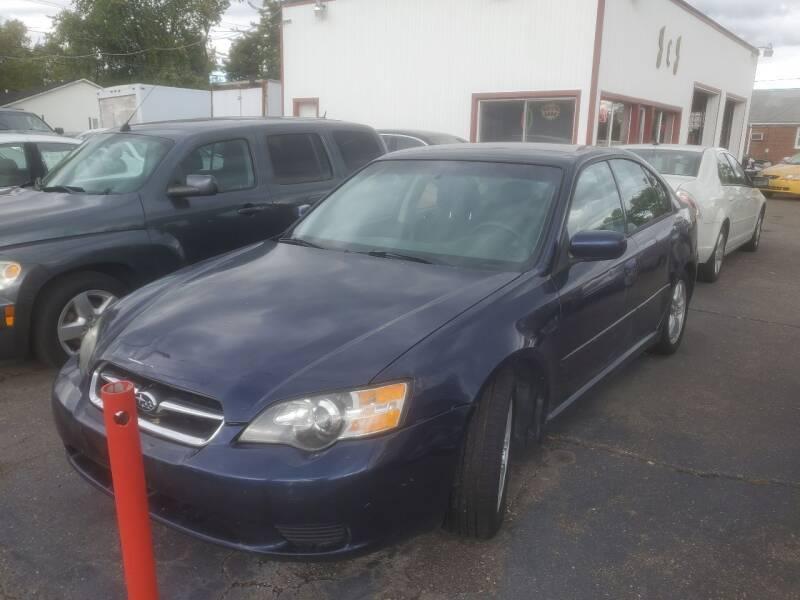 2005 Subaru Legacy for sale at J & J Used Cars inc in Wayne MI