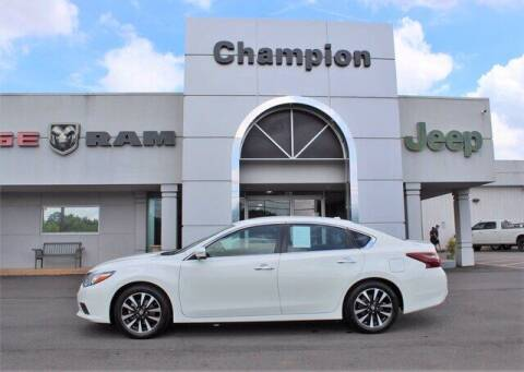 2018 Nissan Altima for sale at Champion Chevrolet in Athens AL