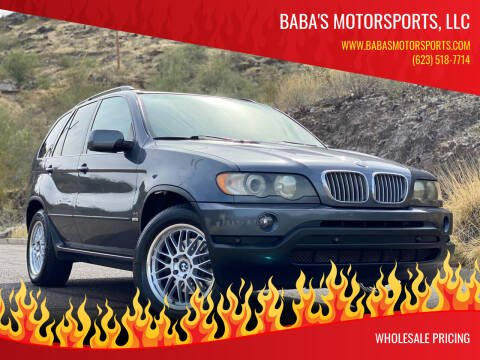 2003 BMW X5 for sale at Baba's Motorsports, LLC in Phoenix AZ