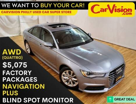 2017 Audi A6 for sale at Car Vision Mitsubishi Norristown - Car Vision Philly Used Car SuperStore in Philadelphia PA