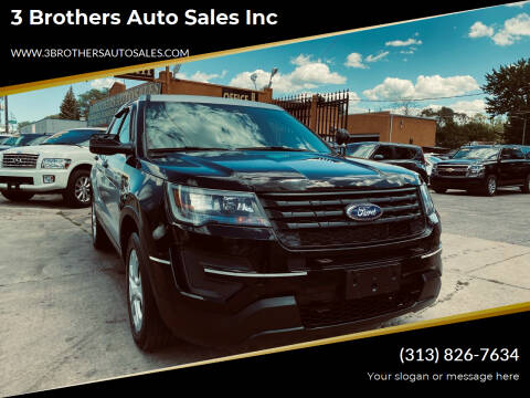 2017 Ford Explorer for sale at 3 Brothers Auto Sales Inc in Detroit MI