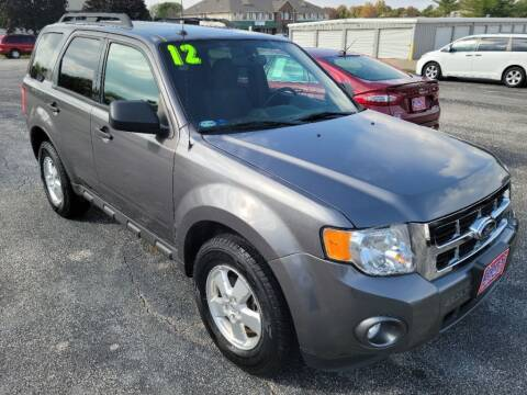 2012 Ford Escape for sale at Cooley Auto Sales in North Liberty IA