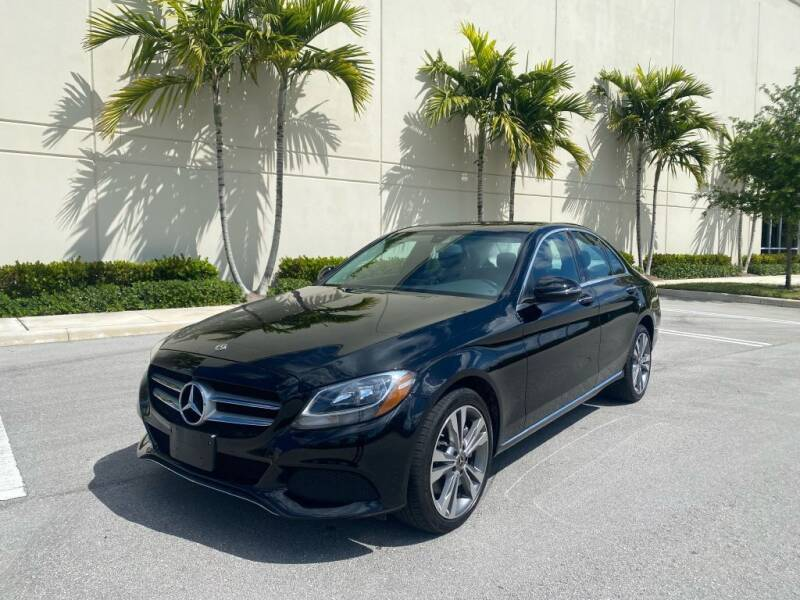 2018 Mercedes-Benz C-Class for sale at Keen Auto Mall in Pompano Beach FL