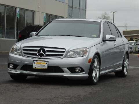 2010 Mercedes-Benz C-Class for sale at Loudoun Motor Cars in Chantilly VA