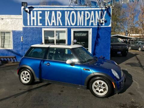 2005 MINI Cooper for sale at The Kar Kompany Inc. in Denver CO