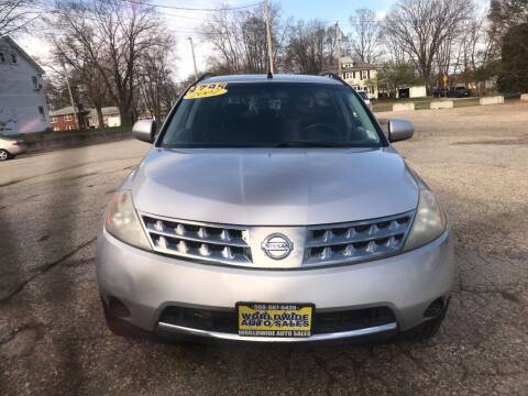 2007 Nissan Murano for sale at Worldwide Auto Sales in Fall River MA