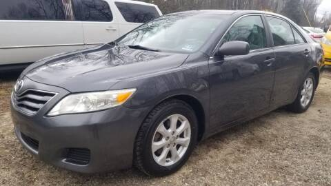 2010 Toyota Camry for sale at Ray's Auto Sales in Elmer NJ