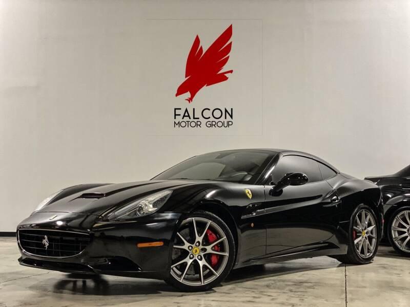 2010 Ferrari California for sale at FALCON MOTOR GROUP in Orlando FL