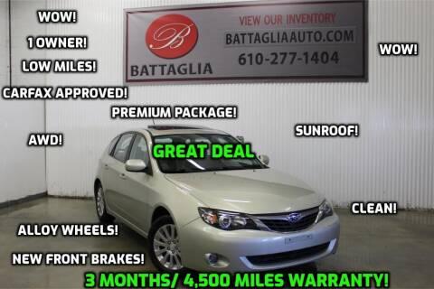 2009 Subaru Impreza for sale at Battaglia Auto Sales in Plymouth Meeting PA