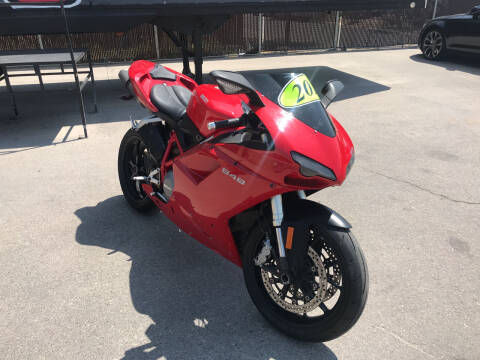 2010 Ducati 848 for sale at Rock Star Auto Sales in Las Vegas NV