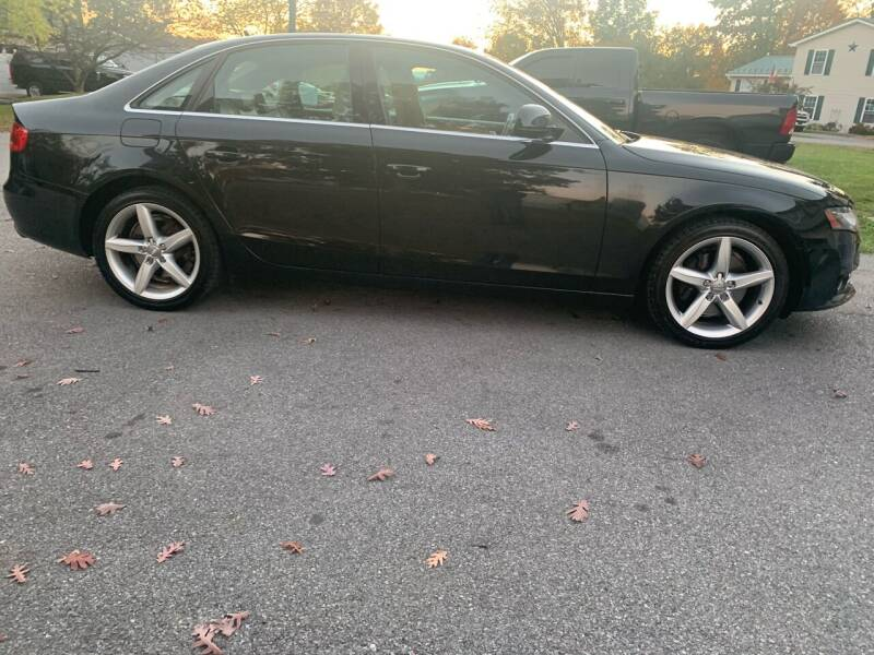 2009 Audi A4 for sale at GET N GO USED AUTO & REPAIR LLC in Martinsburg WV