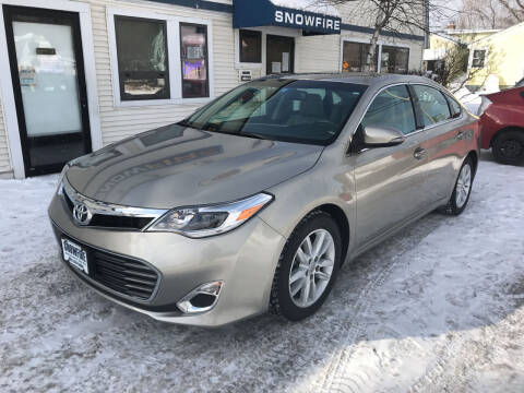 2014 Toyota Avalon for sale at Snowfire Auto in Waterbury VT