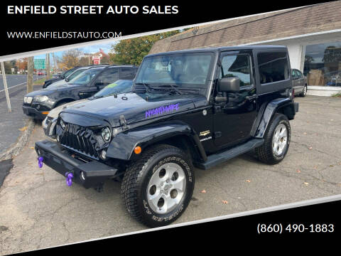 2014 Jeep Wrangler for sale at ENFIELD STREET AUTO SALES in Enfield CT