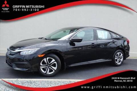 2018 Honda Civic for sale at Griffin Mitsubishi in Monroe NC