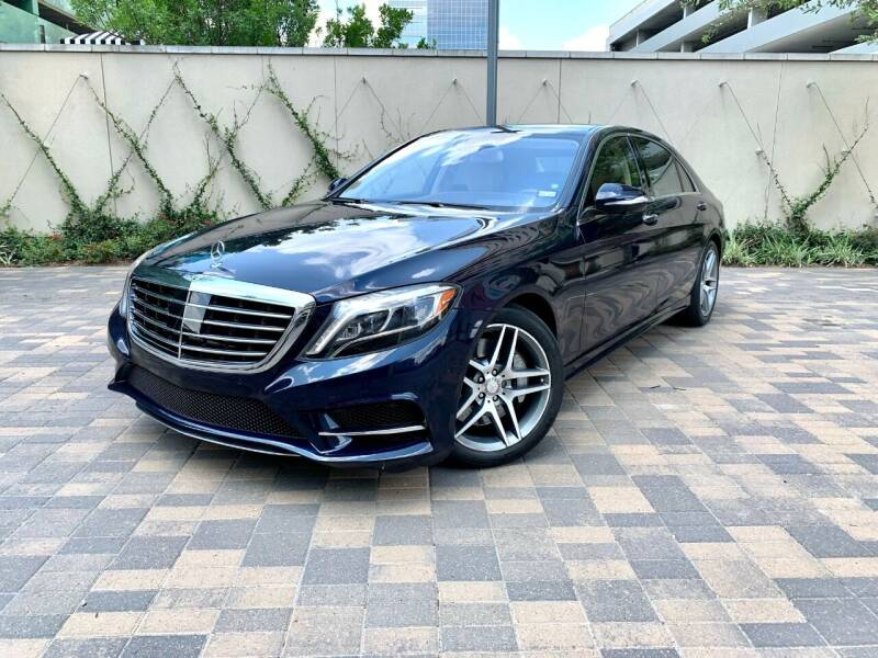 2016 Mercedes-Benz S-Class for sale at ROGERS MOTORCARS in Houston TX