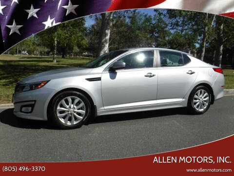 2015 Kia Optima for sale at Allen Motors, Inc. in Thousand Oaks CA