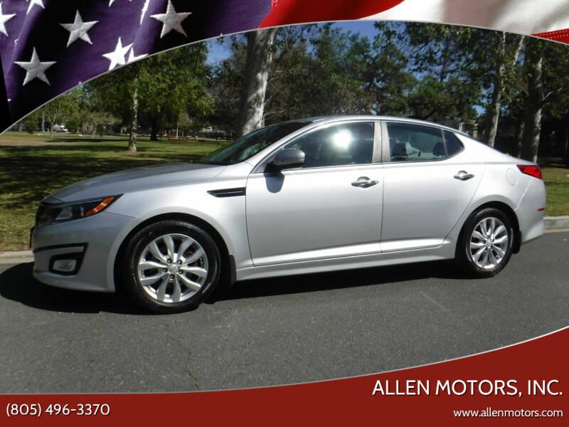 2015 Kia Optima for sale at Allen Motors, Inc. in Thousand Oaks CA