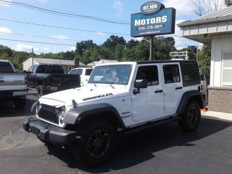 2017 Jeep Wrangler Unlimited for sale at Route 106 Motors in East Bridgewater MA