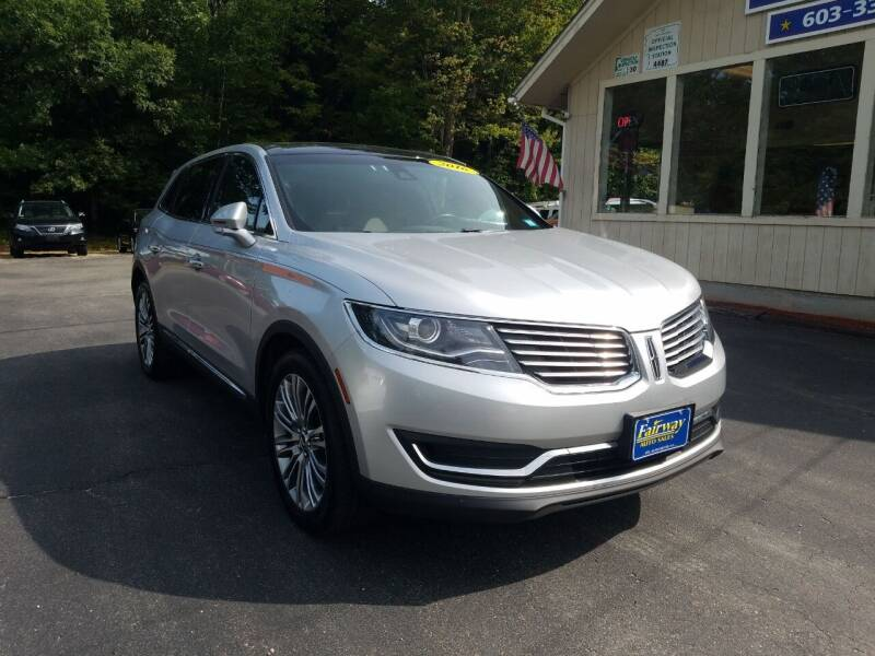 2016 Lincoln MKX for sale at Fairway Auto Sales in Rochester NH