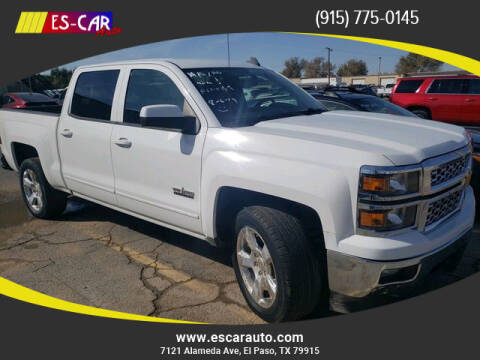 2015 Chevrolet Silverado 1500 for sale at Escar Auto in El Paso TX