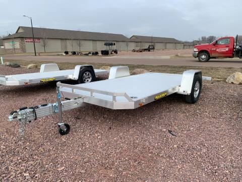 2022 Aluma 8214 HS Tilt #1134 for sale at Prairie Wind Trailers, LLC in Harrisburg SD