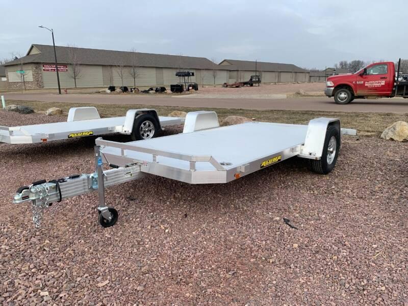 2022 Aluma 8214 HS Tilt #1134 for sale at Prairie Wind Trailers, LLC in Harrisburg SD