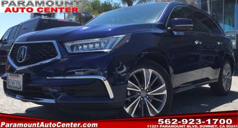 2018 Acura MDX for sale at PARAMOUNT AUTO CENTER in Downey CA