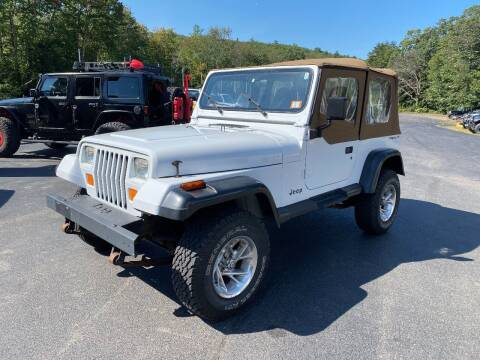 1995 Jeep Wrangler for sale at Route 4 Motors INC in Epsom NH