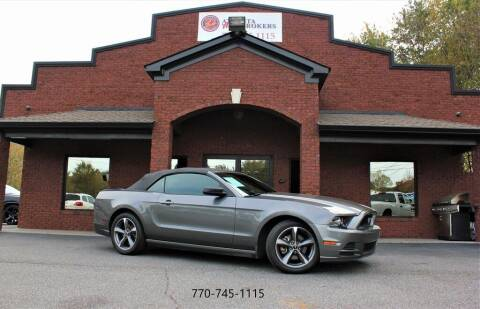 2013 Ford Mustang for sale at Atlanta Auto Brokers in Cartersville GA