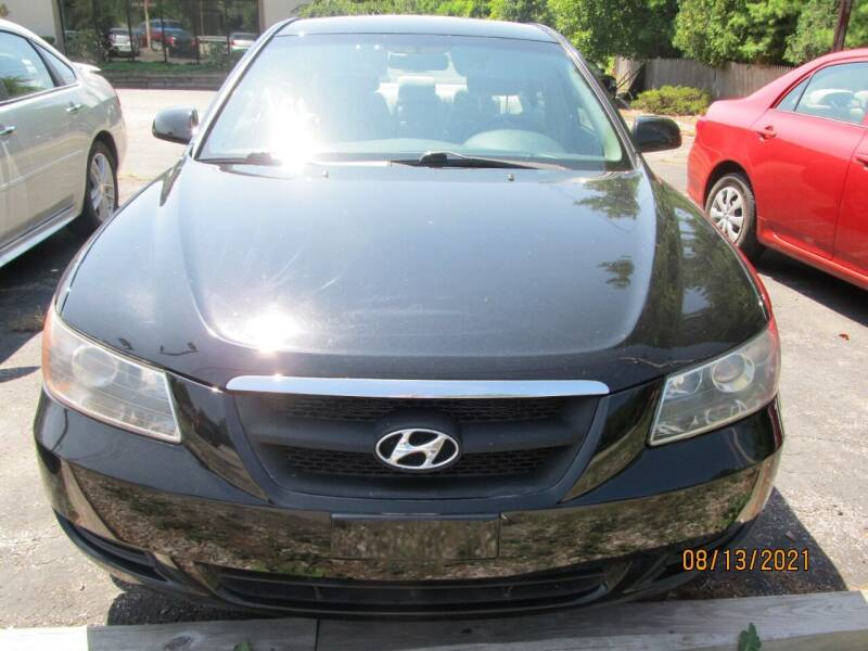 2008 Hyundai Sonata for sale at Mid - Way Auto Sales INC in Montgomery NY