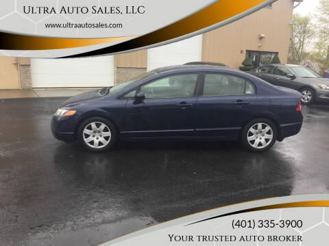 2007 Honda Civic for sale at Ultra Auto Sales, LLC in Cumberland RI